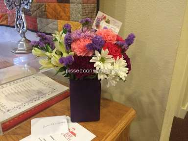 Justflowers Arrangement review 38509