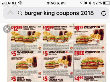 Burger King Fast Food review 331576