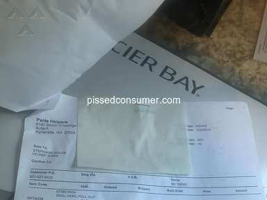 Glacier Bay Products Faucet review 457223