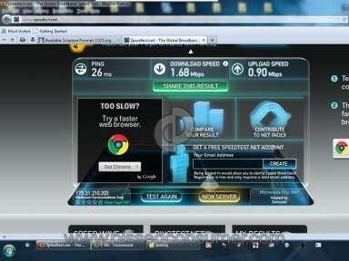 Mediacom Internet Service review 6349