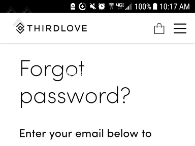Thirdlove - I bought a bra in 2015. Still being spammed