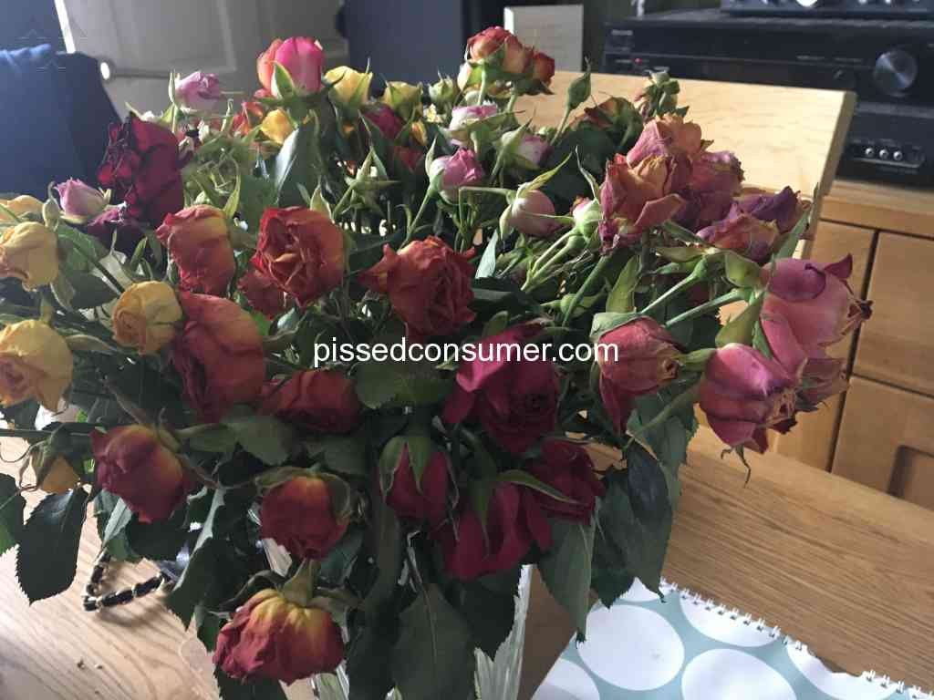 Prestige flowers dont bother they only put high rating on their prestige flowers roses flowers review 285694 izmirmasajfo