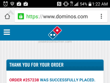Dominos Pizza Pizza review 114805