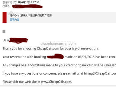 Cheapoair Flight Booking review 18317