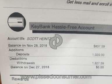 Key Bank Usa - THEIVES CROOKS