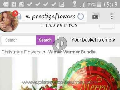 Prestige Flowers Bouquet review 105491