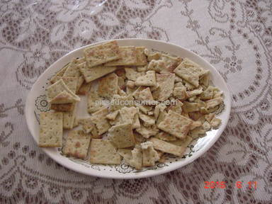 Keebler - Foccacia Tuscan Cheese crackers.