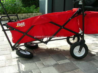 Hayneedle - Defective Product-On the Edge Portable Folding Wagon