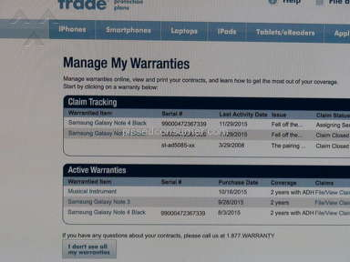 Squaretrade Service Centers and Repairs review 100501