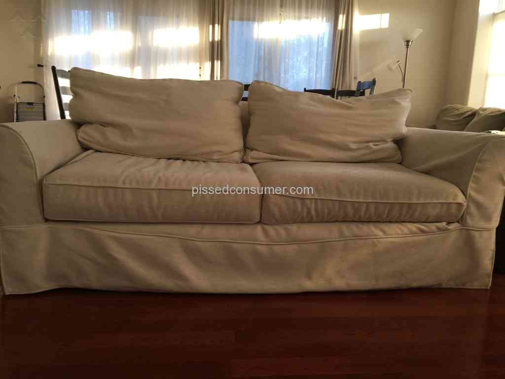 50 Pottery Barn Sofa Reviews And Complaints Pissed Consumer
