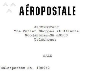 Aeropostale Footwear and Clothing review 121617