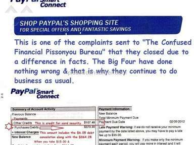 Ge Capital Retail Bank - GE CAPITAL PAYPAL HAVE TIES THAT OTHER BANKS DON'T