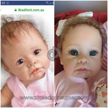 The Bradford Exchange Australia Doll