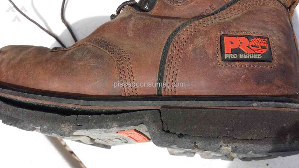 4e66d1f3ca6 Timberland - Pro 33034 Poor Quality Sole.Should recall all of these ...