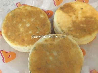 Popeyes Louisiana Kitchen - The Manager thinks these biscuits looked fine!!!!