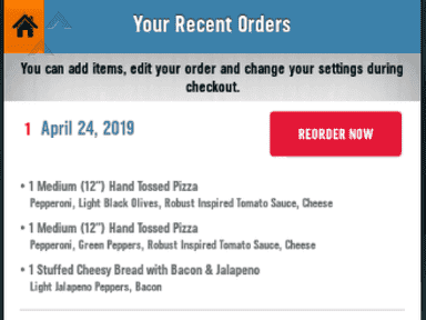 Dominos Pizza - I didnt get my pizza or my money back!!!!!!!!!!