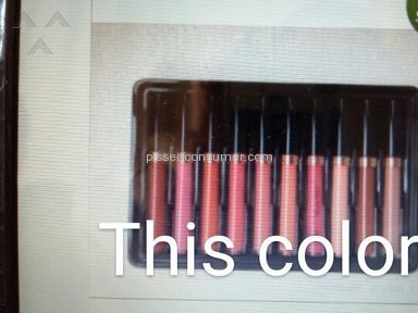 Dhgate Anastasia Beverly Hills Lipstick review 155438