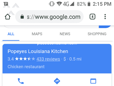 Popeyes Louisiana Kitchen - Complaint against manager.