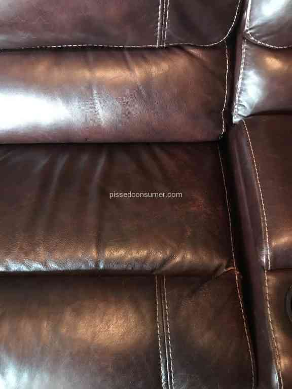 Sofa Mart   Cloud Leather Furniture Color Coming Off   Furniture Row