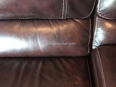 Sofa Mart Cloud Leather Furniture Color Coming Off