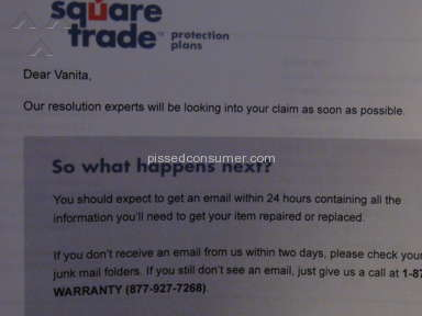 Squaretrade Service Centers and Repairs review 100503