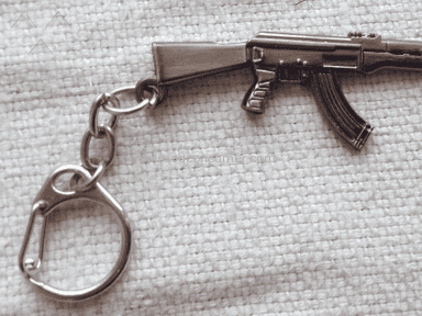 Everbuying Rifle Style Pendant Key Ring review 215260