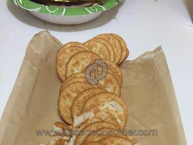 Ritz Crackers - Every cracker broken!