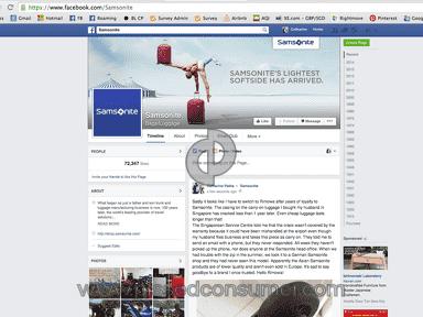 Samsonite Luggage review 54439