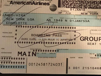 Poor Experience Travelling with American Airlines