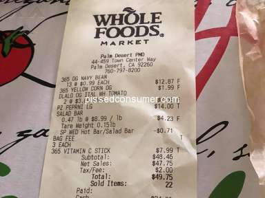 Whole Foods Market Pizza review 282680