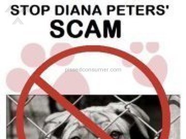 Death Row Dog Rescue/Diana Peters Scamming Money! Unethical!