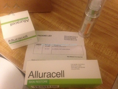 Alluracell Cream review 109979