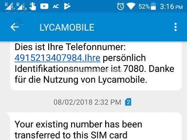 Lycamobile - Pathetic company. poor management, terrible customer care