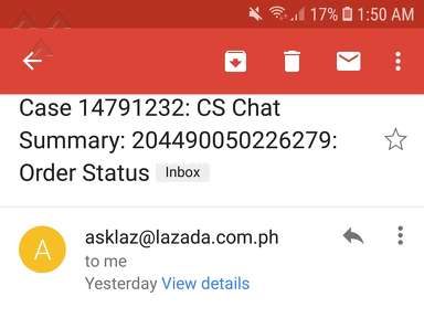 Lazada Philippines - They cancel my order & they lie