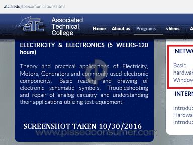 Associated Technical College Telecommunications Technology Program review 171002