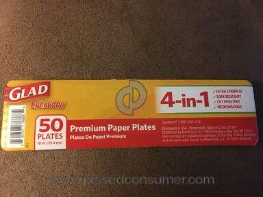 Glad - Cheap flimsy plates