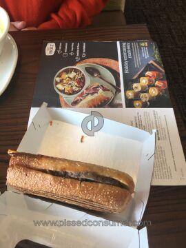 Panera Bread Steak And White Cheddar Panini