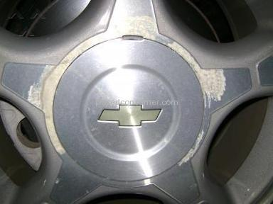 Chevrolet - Finish on rims peeling, chevy trailblazer 06