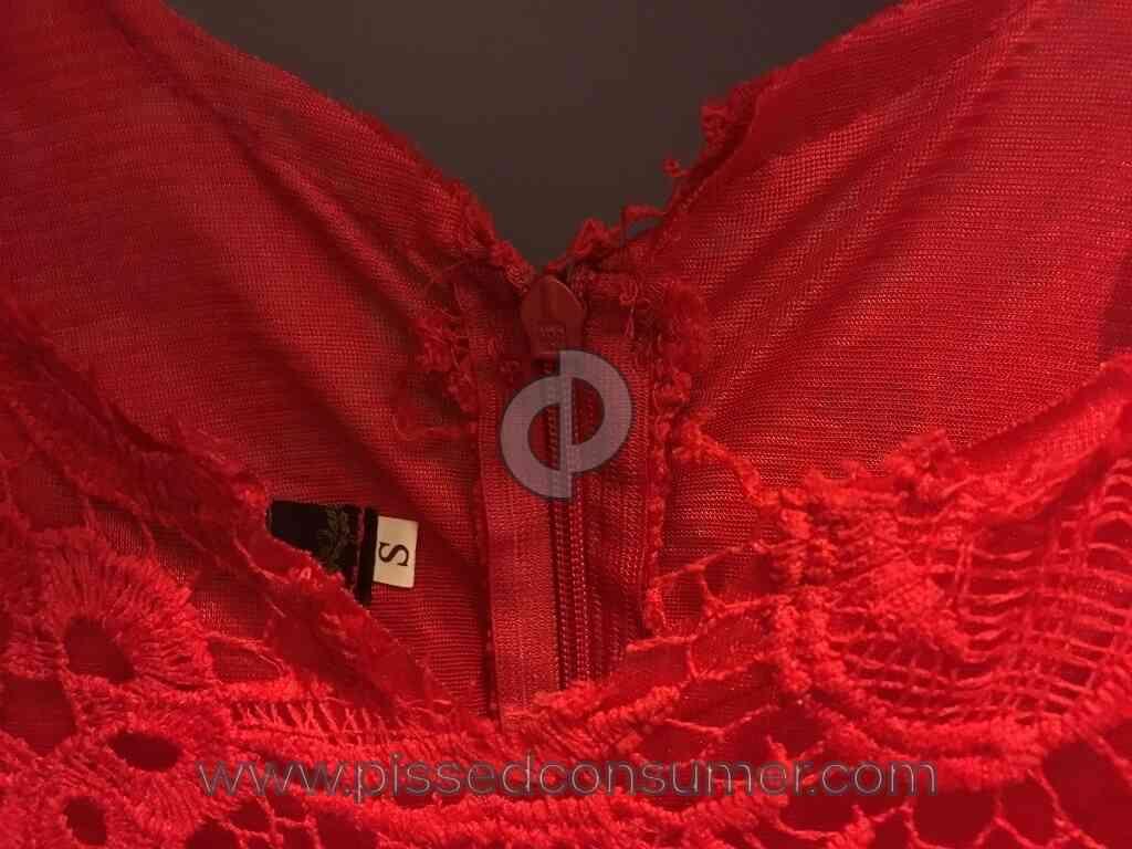 Fashion mia complaints - Fashionmia Bad Quality