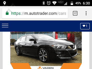 Vaden Nissan Of Savannah - Pricing not honored