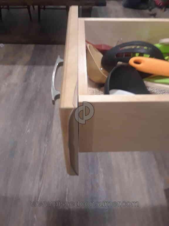 Kitchen Magic Usa   Cheap Peeling Laminate