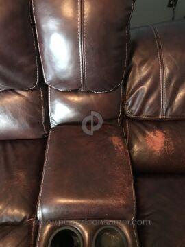 Sofa Mart Cloud Leather Sofa