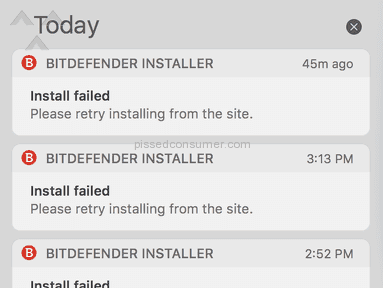 Bitdefender - Can't install on a brand new MacBook Pro
