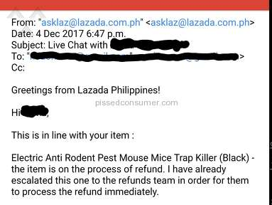 Lazada Philippines Shipping Service review 248796