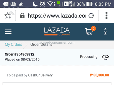 Lazada Philippines Warranty review 119199