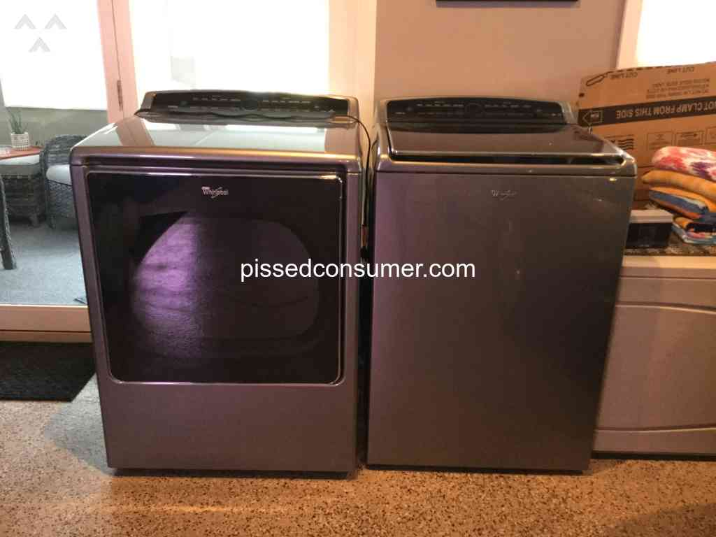 Never Again Whirlpool Cabrio Wtw8500dc F6 E3 Error Codes Sep 19 2020 Pissed Consumer