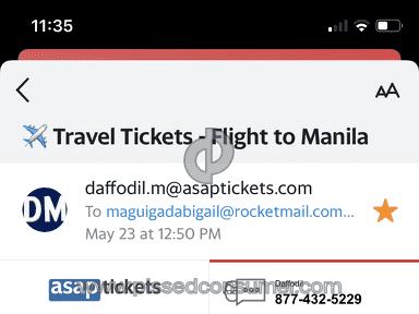 Asap Tickets Flight Booking review 814480