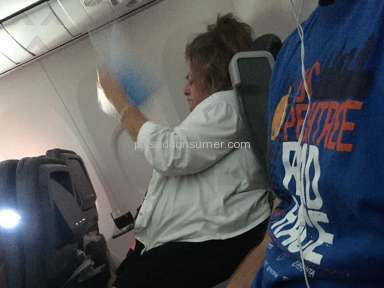 Passenger Smoking on American Airlines Flight 2515