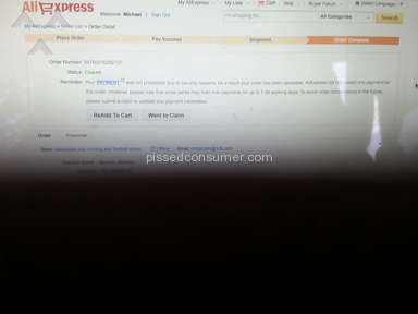 Aliexpress Customer Care review 53247