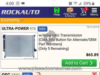 Rockauto Car Radiator review 400162